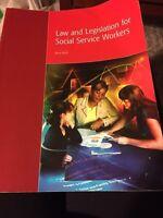 Law and Legislation book for SSW program.