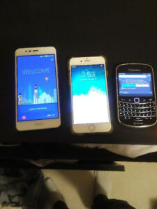 Phones for sale. BB, Asus, iphone