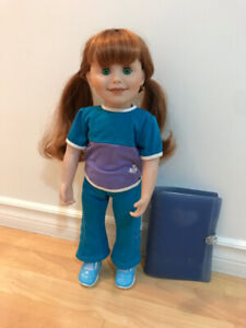 Maplelea Jenna Doll, Journal & Accessories (Excellent Condition)