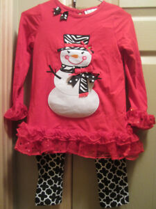 New Girls 2 piece Christmas outfit