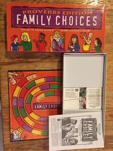 Family choices game