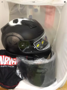 """Motorcycle Helmet-""""The Punisher""""-New in Box"""