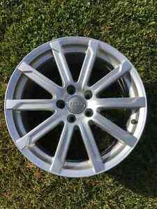 Audi  OEM 18 inch Wheel Rim 18x8 ET 43 (one wheel) London Ontario image 1