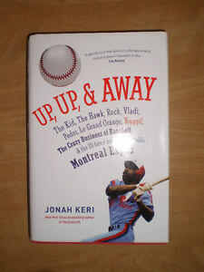 2014 Montreal Expos book - Up, Up And Away by Jonah Keri SRP $32