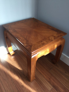 Bird's Eye Maple Table