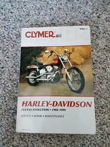 Harley-Davidson FLS/FXS Evolution, 1984 - 1999 MANUAL