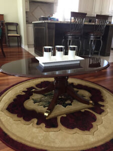 Mahogany Coffee and End Tables