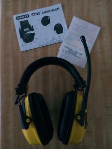 Casque anti-bruit Stanley avec radio, auxiliaire...