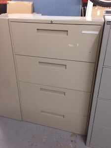 4 Drawer Lateral File Cabinets Avialable West Island Greater Montréal image 4