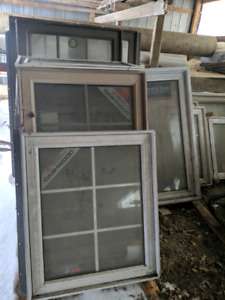 Assorted size windows for sale