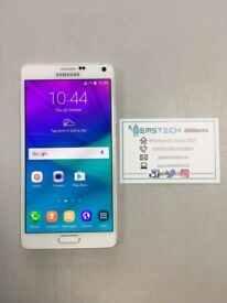 Samsung Note 4 32GB Unlocked Receipt Provided - White
