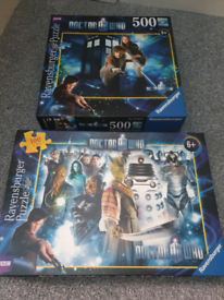 Doctor who puzzle x2