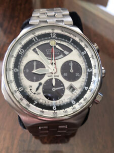 Men's Citizen Eco-Drive Chronograph Watch