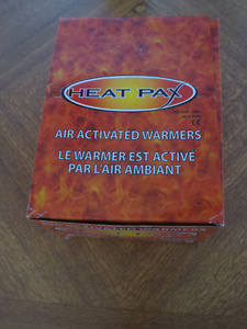 Lot of 80 (40 Pairs) Heat Pax HAND WARMERS 8+ Hours of Warm