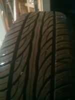GOOD DEAL. FOUR 225/60/17. TIRES. 75% THREAD.  $100