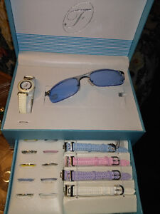 Fondini Platinum Collectiin Sunglasses and interchangeable watch