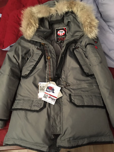 Manteau Pajar modele Eagle couleur steel***