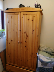 Large wardrobe wood