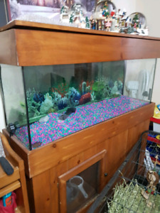 45 gl tank and stand for sale