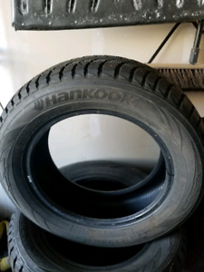 Studded winter tires 215/60R16