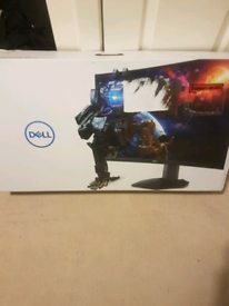 "Dell 27"" curved gaming monitor"