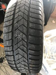 Four Pirelli Sottozero Run Flat Winter Tires - 205/55/16