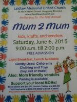 Mom2m Sale at Laidlaw united church