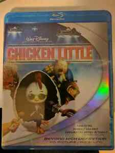 New Chicken Little Blu ray