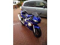 Yamaha r6 (5050 miles) original condition