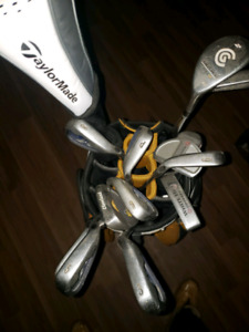 Complete set with Callaway bag and 2 oddysey putters