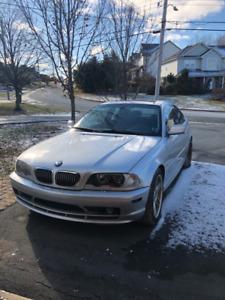 2002 BMW 325CI Silver