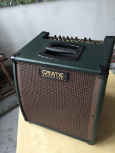 Ampli Crate CA6110DG Gunnison Acoustic Guitar 60W + footswitch