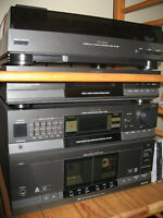 Toshiba Sound System & Technics 5 CD Disc changer