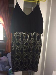 Black & Silver dress