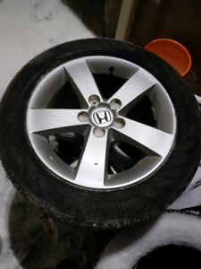 "16"" Civic Alloy Rims"