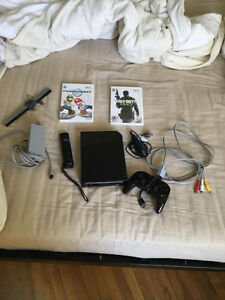 Nintendo Wii Noir