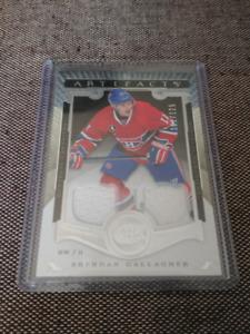 Lot cartes de hockey Canadiens de Montréal (jerseys + autos)