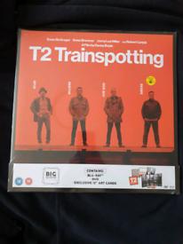 NEW T2 Trainspotting big sleeve Blu ray