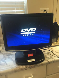 "Venturer 19"" TV with built in DVD player and iPod dock"