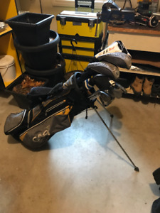 Callaway Lefty Regular Golf Clubs complete with bag