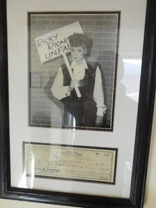 Lucille Ball Signed photo