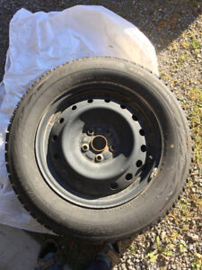 4-Bridgestone Blizzak WS-80 Winter Tires