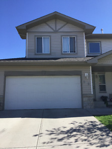 Beautiful 2 master bedrooms with heated double garage