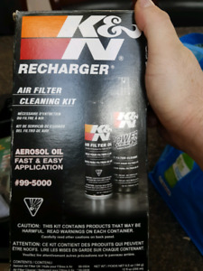 K&n air filter cleaning kit recharger