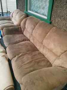 Love seat and coach