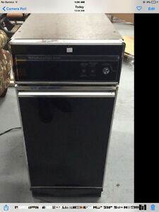 Kitchen aid under the counter trash compactor Reduced Price