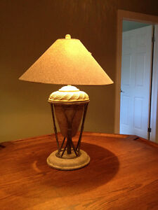 Moving -Side Table or Desk Lamp