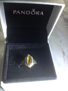 Women's Gold Tiger Eye Ring 14k  (Size 5 1/2 - 6) value 1200$