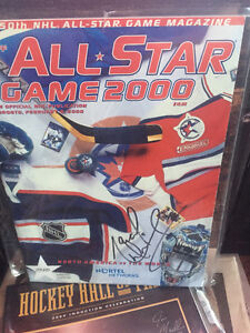 Marcel Dionne Autographed 50th All Star Game Program