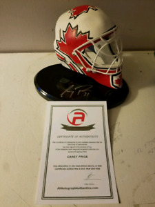 Carey price memorabilia
